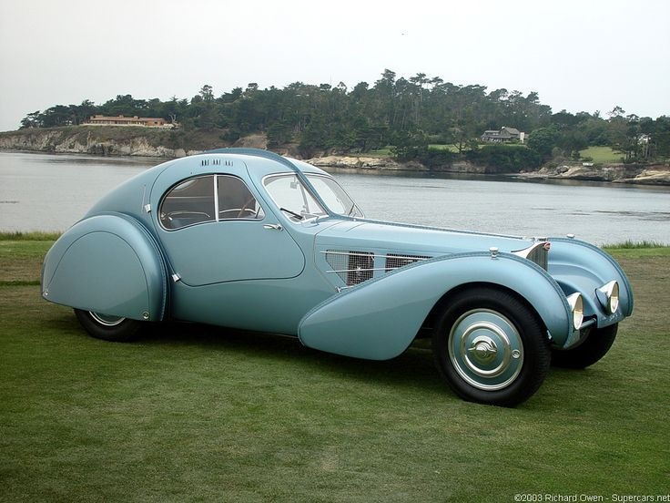 1936 Bugatti Type 57SC Atlantic - most expensive classic car in the world