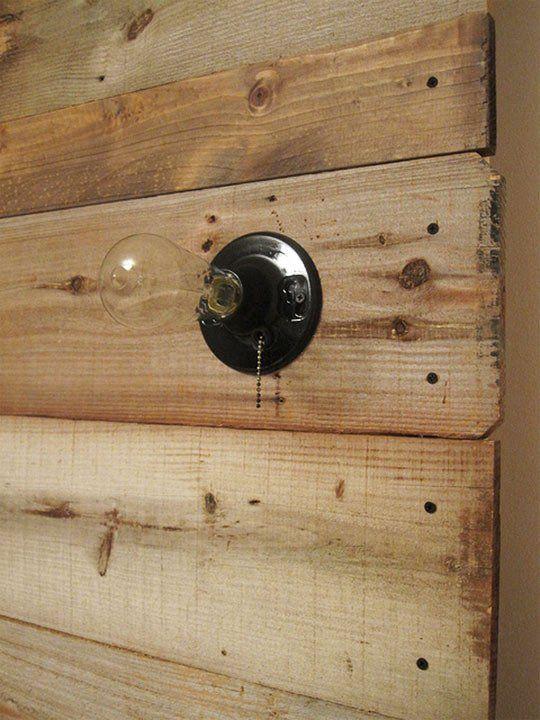 William & Sally's DIY Reclaimed Wood Headboard