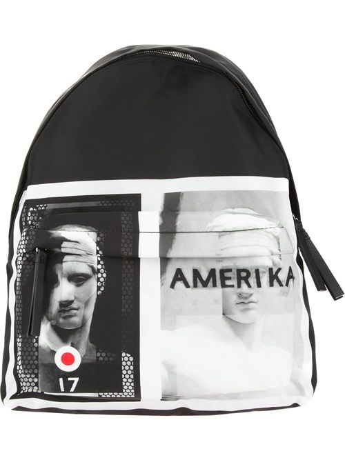 Men - Givenchy Amerika Target Backpack - SMETS #givenchy