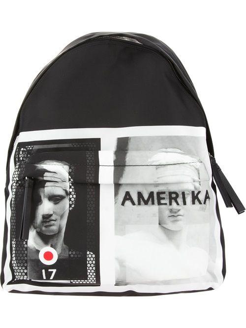 Men - Givenchy Amerika Target Backpack - SMETS #givenchy