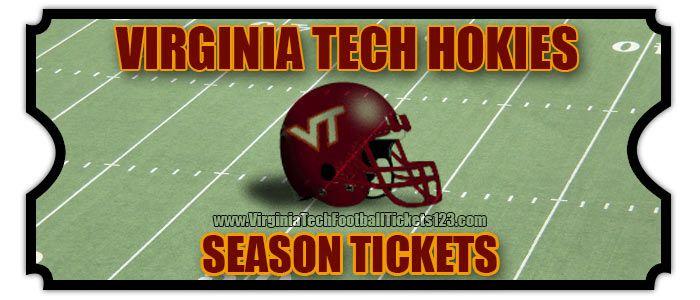 2015 Virginia Tech Season Tickets