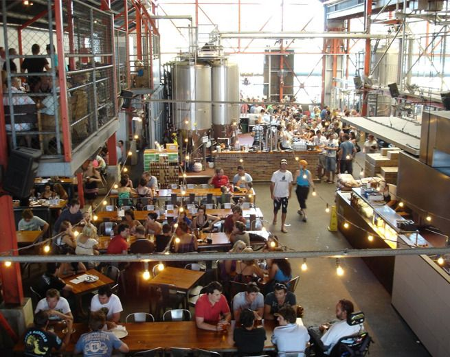 Little Creatures in Fremantle, Western Australia possibly the coolest Brewery I've ever been to on ANY conitinent