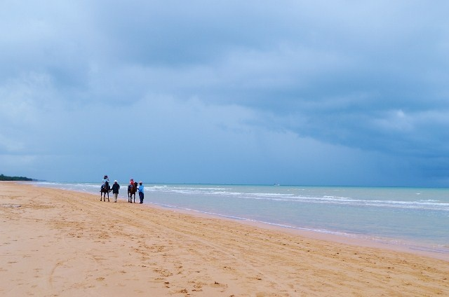 Lombang beach Madura Island