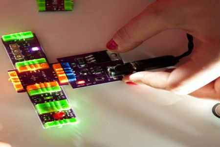 Electrical engineering is child's play with littleBits.