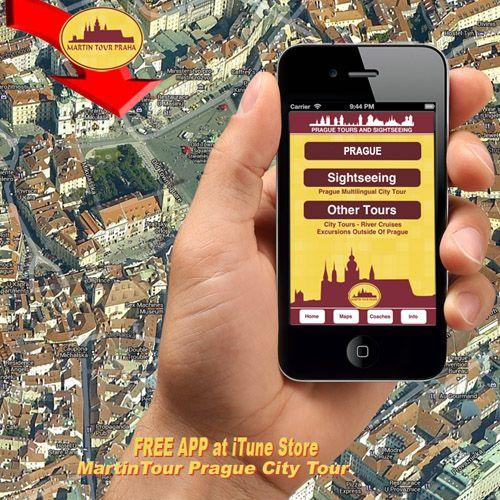 Get your free MartinTour app