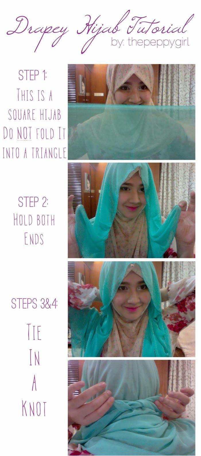 Hijab Tutorial no.1