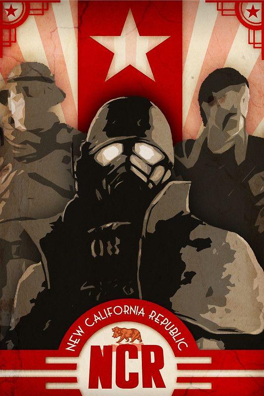 NCR - Propaganda Poster/Print Fallout New Vegas