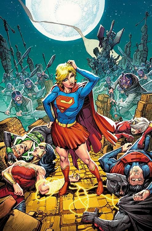 JUSTICE LEAGUE 3001 #2 Written by KEITH GIFFEN and J.M. DeMATTEIS Art and cover by HOWARD PORTER