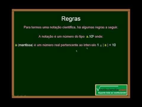 Matemática Zero - Notação Científica -  Parte 1