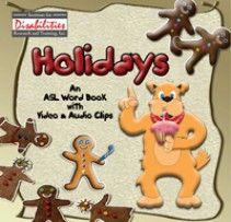 Holidays: An ASL Word Book