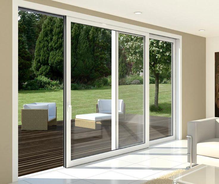 Las 25 mejores ideas sobre ventanales de aluminio en for Casas de pvc para jardin