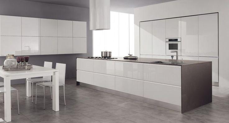 Lacquered wood veneer kitchen SETA by GeD cucine by GeD Arredamenti | design Centro stile GeD