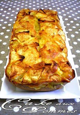 Cake aux pommes ( 2.5 pts ww)