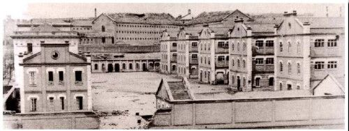 Antigua Carcel Modelo de Madrid | Urban Idade- Cuartel de Ingenieros y al fondo la Carcel Modelo, 1936.