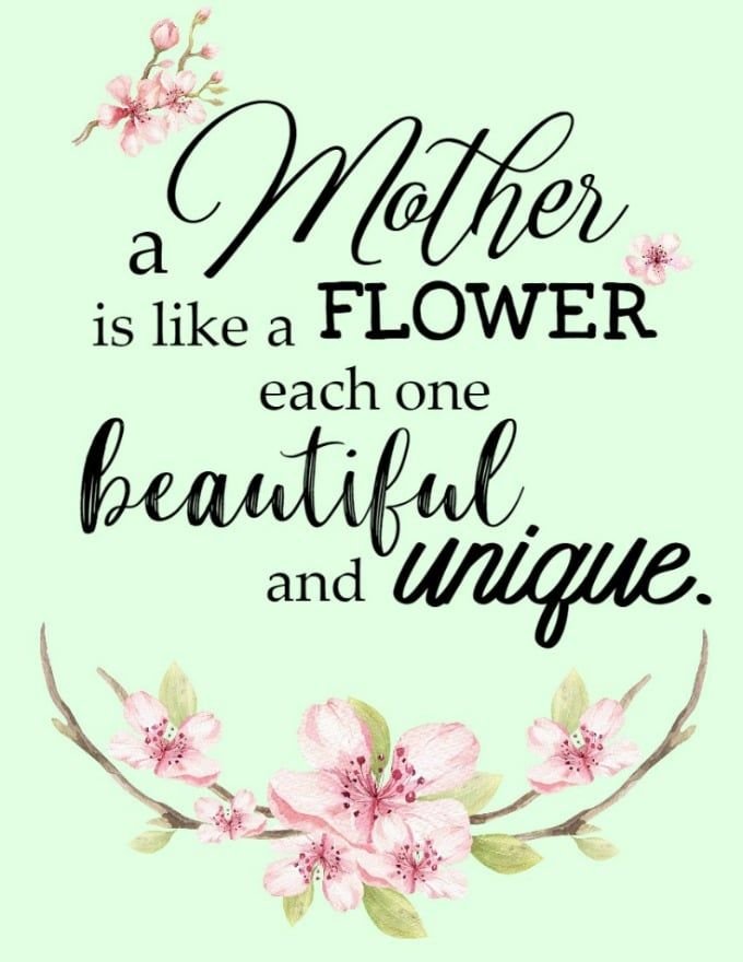 Mother S Day Quotes Free Printable Artwork Glue Sticks And Gumdrops Happy Mothers Day Wishes Happy Mother Day Quotes Mother Day Message