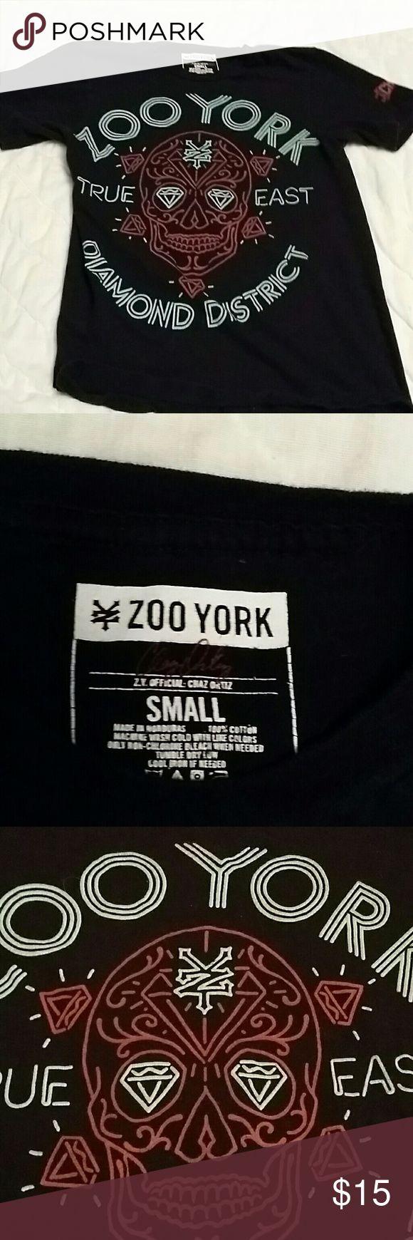 Black zoo York diamond district skull tshirt Black zoo York diamond district skull tshirt Zoo York Shirts Tees - Short Sleeve