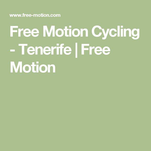 Free Motion Cycling - Tenerife | Free Motion