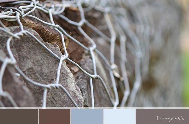 gorgeous neutral palette - wire and stones - livingcloth.com