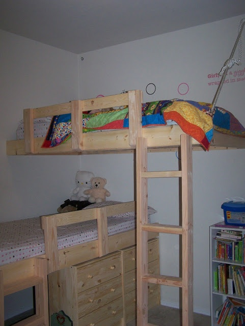 30 Best Images About Diy Bunk Play Area On Pinterest