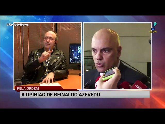Marco Aurélio faz mistério sobre que posição irá tomar no caso Aécio diz Reinaldo Azevedo