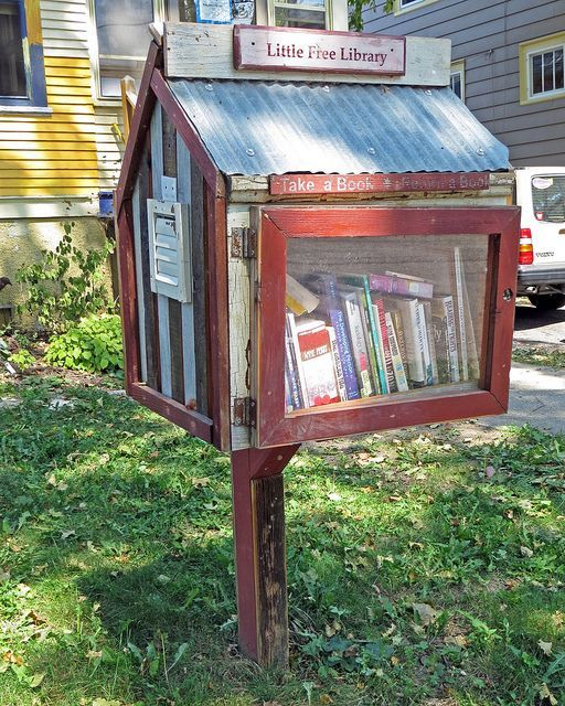 little free library madison,wischttp://bookriot.com/2013/07/29/5-of-the-coolest-little-free-libraries/