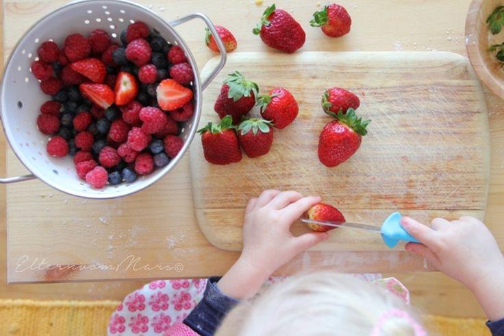Messer, Kleinkinder und Montessori