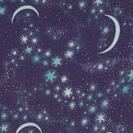 Chelsea Flannelette - Moon and Stars 2
