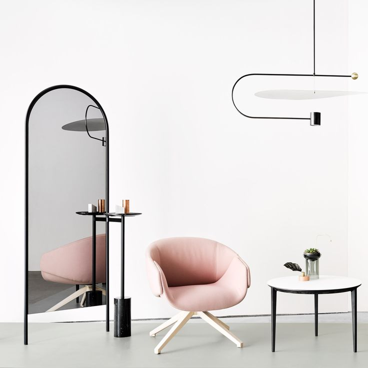 Products by Brooklyn-based Ladies & Gentlemen Studio are on display alongside furniture by new Australian design brand SP01 at a pastel-coloured installation in New York.