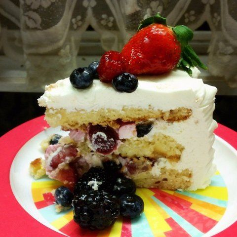 Whole Foods Market Berry Chantilly Cake
