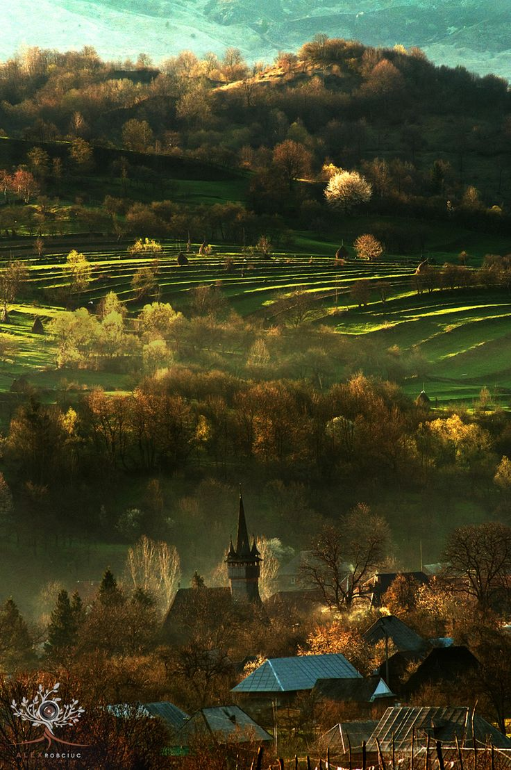 morning #Maramures #Romania by Robciuc Alex on 500px