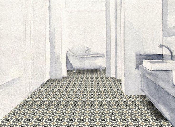les 16 meilleures images propos de carrelage sur pinterest mosa ques normandie et couleur. Black Bedroom Furniture Sets. Home Design Ideas