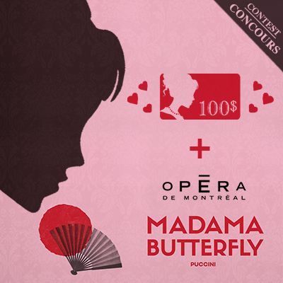À gagner, une soirée pour Madama Butterfly à l'Opéra de Montréal+ 100$ chez Boutique 1861 ♡ You could win a pair of tickets to see the Opera Madama Butterfly and $100 at Boutique 1861  ♡ www.1861.ca/pages/concours-opera