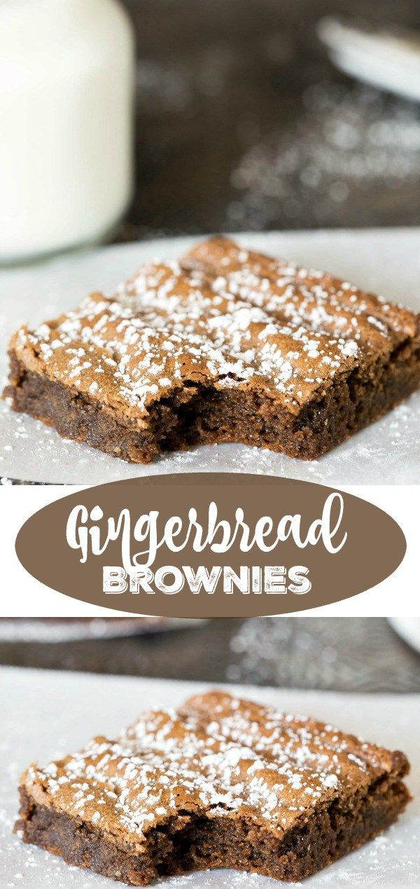 Gingerbread Brownie Recipe