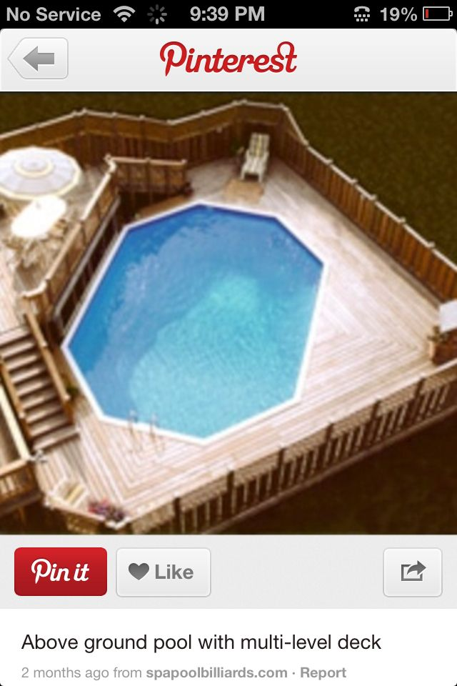 134 best above ground pool ideas images on pinterest for Above ground pool decks indianapolis