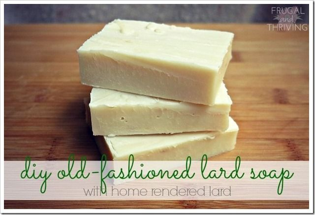 how to make lard oil
