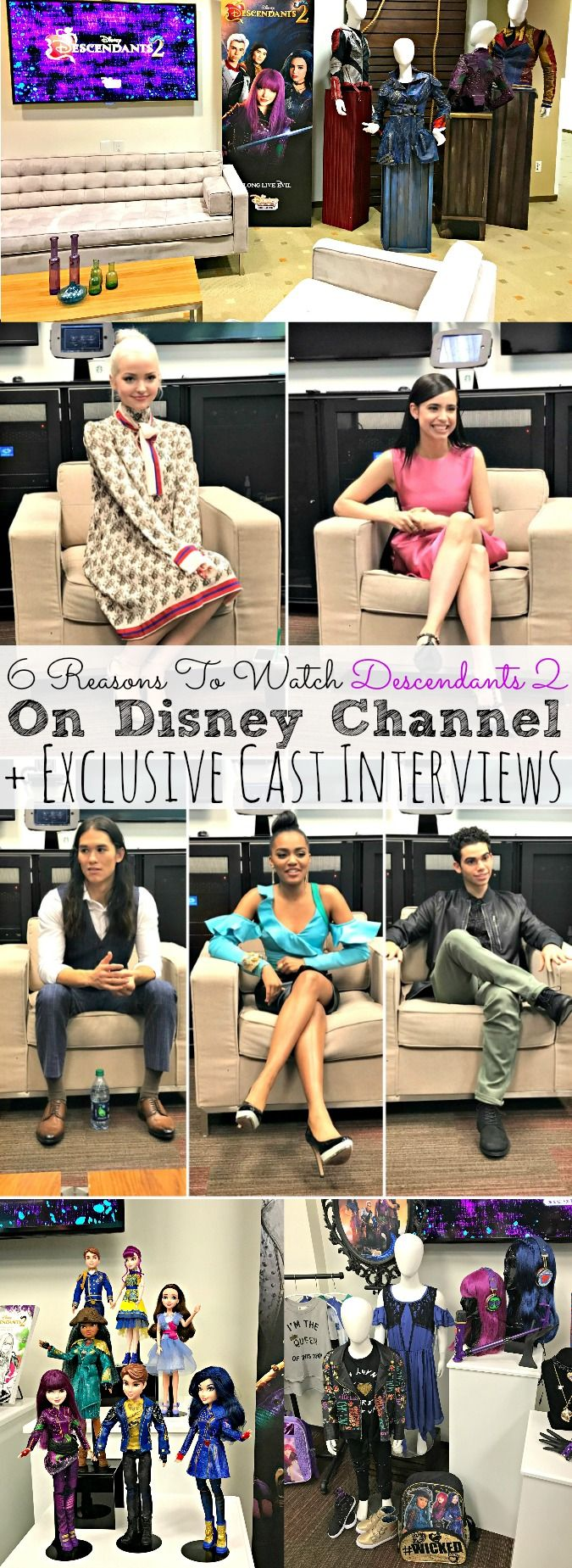 6 Reasons To Watch Descendants 2 On Disney Channel + Exclusive Cast Interviews- abccreativelearning.com