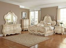AICO Chateau de Lago Bedroom Set with California King Bed