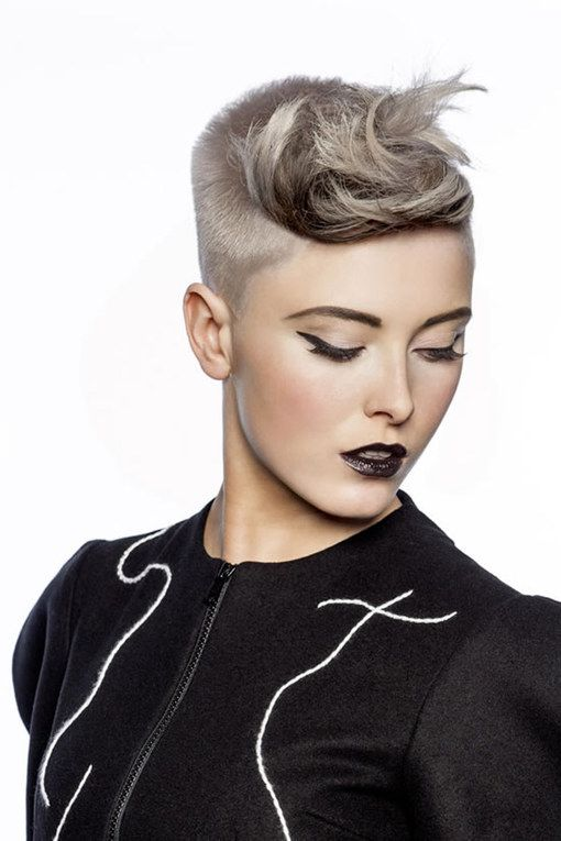 Thinking of getting your hair cut shorter than short? Then check out these edgy hairstyles for instant short hair inspiration. From wild girl bobs to pixie crops...