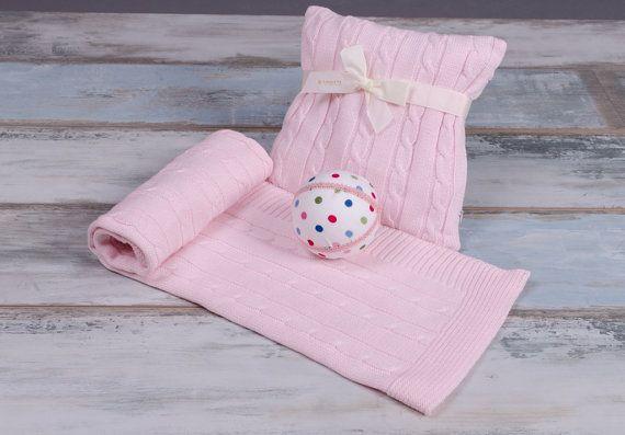 Punto de rosa, BabyBlanket, OEKO-TEX®, manta de cochecito, manta, punto, hilo, bebé, bebita, cochecito, coche, babyroom, cuna, regalo, babygift, bebita regalo