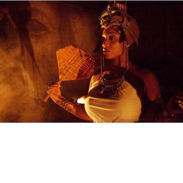 Ladies ORO Egiziano Cleopatra Copricapo Costume Accessorio Vestito