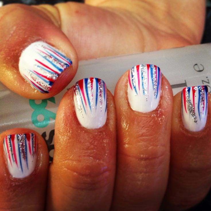 4 of july nails