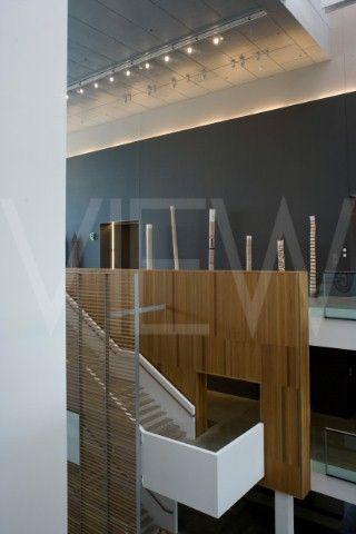 Gallery of Modern Art  Architectus  Brisbane  Australia  Interior atrium gallery spaces and stairs
