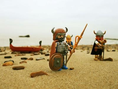 Viking Raiding Party - Playmobil Style 24 Feb. 2013