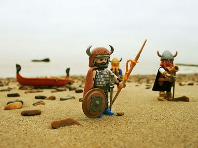 Viking Raiding Party - Playmobil Style 24 Feb. 2013