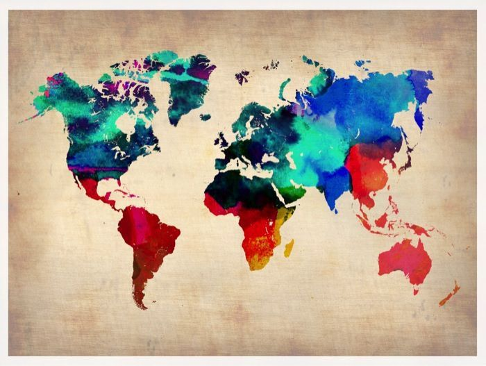 The World in Watercolor