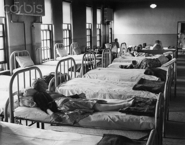 Insane Asylum Patients | Patients' Beds in an Insane Asylum - JE001888 - Rights Managed - Stock ...