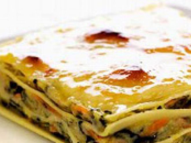 Receita Prato Principal : Lasanha de bacalhau e espinafres de Comeratenaopodermais