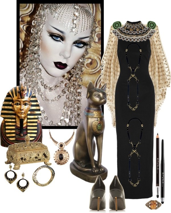 """Egyptian Style"" by mzdiamondgirl ❤ liked on Polyvore"