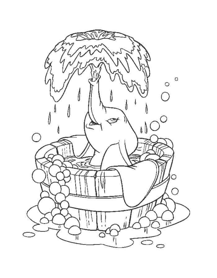 Hard Elephant Coloring Pages Elephant Coloring Page Disney Coloring Pages Baby Coloring Pages