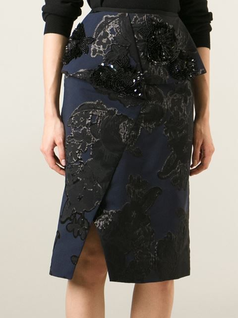 Erdem 'ingrid' Skirt - Alothman - Farfetch.com